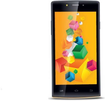 iBall ANDI (Softgold, Black, 8 GB)