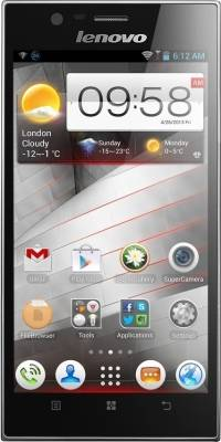 Lenovo K900-P0A6004TIN (Steel Grey, 32 GB)