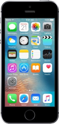 Apple iPhone SE (Space Grey, 64 GB)