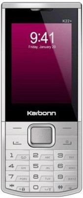Karbonn K22 PLUS(SILVER AND WHITE) 1