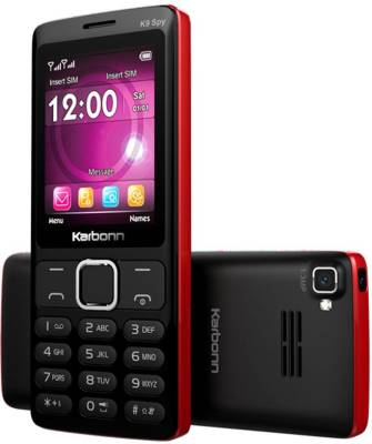 Karbonn K9 SPY (BLACK AND RED)