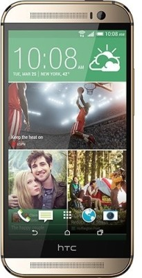 HTC One M8 (Amber Gold, 16 GB)(2 GB RAM) at flipkart