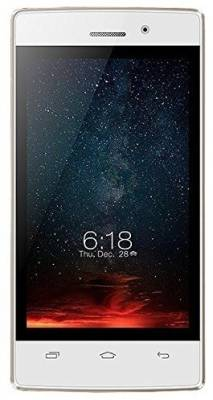 Intex Aqua Y2 Ultra (White-Champagne)
