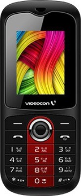 Videocon Dost V1BB (V1390+)(Black & Red)