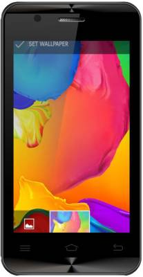 Karbonn ALFA A90 3G (BLACK AND SILVER, 4 GB)