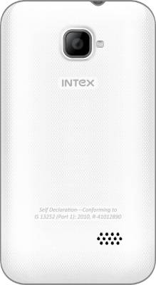 Intex Aqua V5 (White, 512 MB)