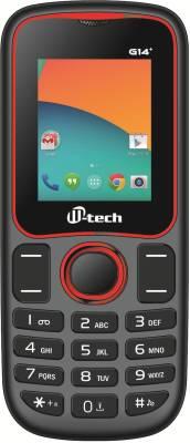 Mtech G14+ BLACK+RED (Black, Red)