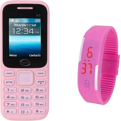 Infix N3 Silicon(Pink)