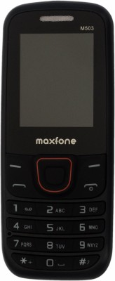 Maxfone 503(Black)