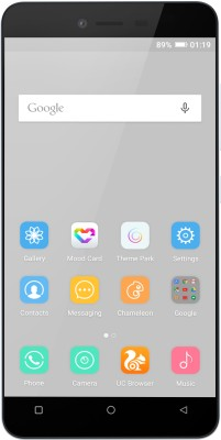 Gionee P5L 16GB White Mobile