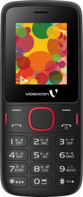 Videocon V1393(Black, Red) 1