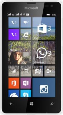 Microsoft Lumia 532 (White, 8 GB)(1 GB RAM)