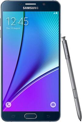 Samsung Galaxy Note 5 64GB Single Sim -Black (Black, 64 GB)(4 GB RAM)