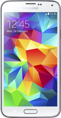 Samsung Galaxy S5 (Shimmery White, 16 GB)