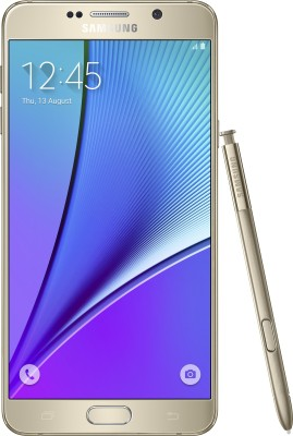 Samsung Galaxy Note 5 (Dual Sim) (Gold Platinum, 32 GB)(4 GB RAM)