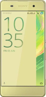 Sony Xperia XA Dual (Lime Gold, 16 GB)(2 GB RAM) at flipkart