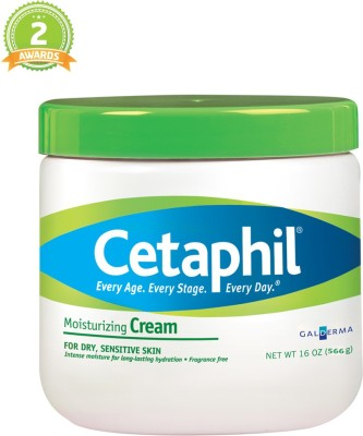 Cetaphil Moisturizing Cream Green Top (MADE IN CANADA) Imported(566 g)  available at flipkart for Rs.1995