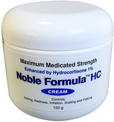 Noble Formula Hydrocortisone Cream with Pyrithione Zinc (Znp) .25% EnhancedHydrocortisone 1%, 4 ( )(120 ml) at flipkart