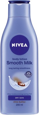 Nivea Smooth Milk(200 ml)  available at flipkart for Rs.210