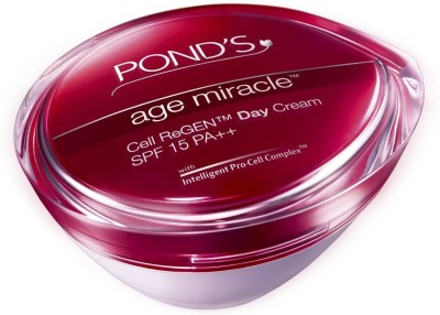 Ponds Age Miracle Cell ReGen Day Cream SPF 15 PA++(50 g)  available at flipkart for Rs.649