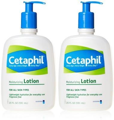 Cetaphil Moisturizing Lotion 2 pack(600 ml)