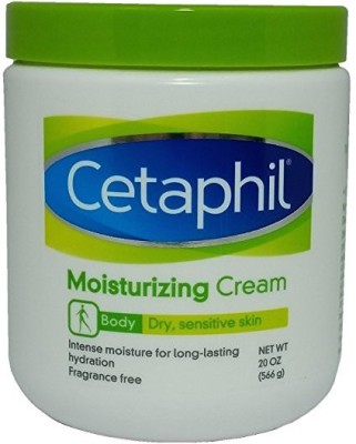 Cetaphil Moisturizing Cream For Dry Sensitive Skin Fragrance Free(566 ml)  available at flipkart for Rs.1999