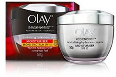 Olay Regenerist Revitalising Hydration Skin Cream Moisturiser SPF 15 (50GM)