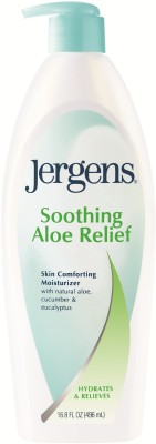 Jergens Soothing Aloe Relief Moisturizer(496 ml)  available at flipkart for Rs.669