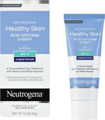 Neutrogena Healthy Skin Anti-Wrinkle Cream With Sunscreen Spf 15(40 g)