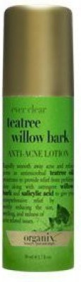 Organix Ever Clear TeaTree Willow Bark, Anti Acne Lotion(51 ml)