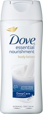 Dove Essential Nourishment Body Lotion with Offer(100 ml)  available at flipkart for Rs.120