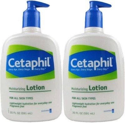Cetaphil Moisturizing Lotion - 591ml (20oz) (Pack of 2)(591 ml)
