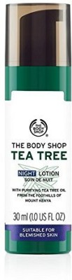 The Body Shop Tea Tree Blemish Fade Night Lotion(30 ml)