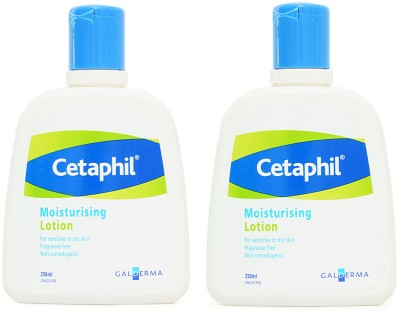 Cetaphil Moisturizing Lotion for sensitive or dry skin - Pack of 2(250 ml)