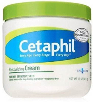 Cetaphil Moisturizing Cream for Dry, Sensitive Skin, Fragrance Free, Non-comedogenic ( )(473.1 ml)  available at flipkart for Rs.1995