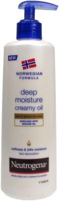 Neutrogena Norweigian Formula Deep Moisture Creamy Oil, 250ml