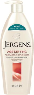 Jergens Age Defying Multi-Vitamin Moisturizer(399 ml)  available at flipkart for Rs.580