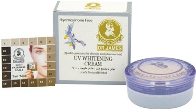 Dr. James UV Whitening Cream With Natural Herbal(4 g)  available at flipkart for Rs.349