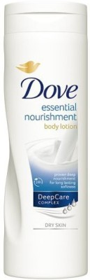 Dove Essential Nourishing Lotion(400 ml)  available at flipkart for Rs.789