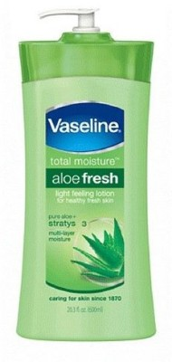 Vaseline Total Moisture Aloe Fresh Hydrating Body Lotion For Men 600ml