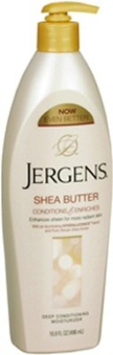 Jergens Shea Butter Conditions and Enriches Deep Conditioning Moisturizer 496ml(496 ml)  available at flipkart for Rs.549