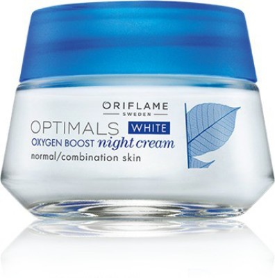 Oriflame Sweden Optimals White Oxygen Boost Night Cream Normal Combination Skin(50 ml)  available at flipkart for Rs.599