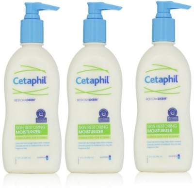 Cetaphil Restoraderm Skin Restoring Body Lotion (Pack of 3)(888 ml)