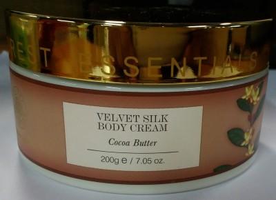 Forest Essentials Velvet Silk Body Cream Cocoa Butter(200 g)