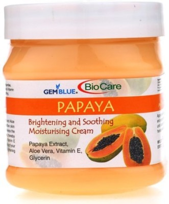 Gemblue Biocare Papaya brightening & Soothing Moisturizing Cream(500 ml)