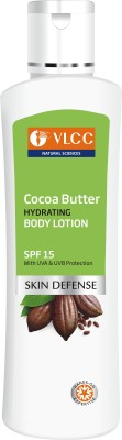 VLCC Cocoa Butter Hydrating Body Lotion SPF 15 (350ML, Pack of 2)