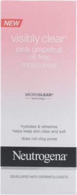 Neutrogena Oil Free Pink Grapefruit Moisturiser Cream For Men 50ml