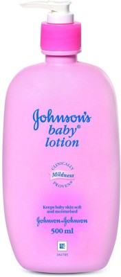 Johnsons Pink Baby Lotion, 500 ml