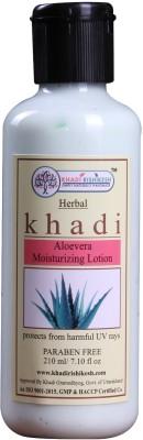 Khadi Rishikesh Herbal Aloevera Moisturizing Lotion 210 ml