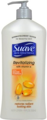 Suave Skin Solutions Lotion Pump, Revitalizing Vitamin E(540 ml) at flipkart